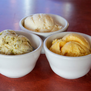 Pistachio Coconut or Mango Ice Cream