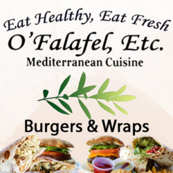 Burgers and Wraps - New!
